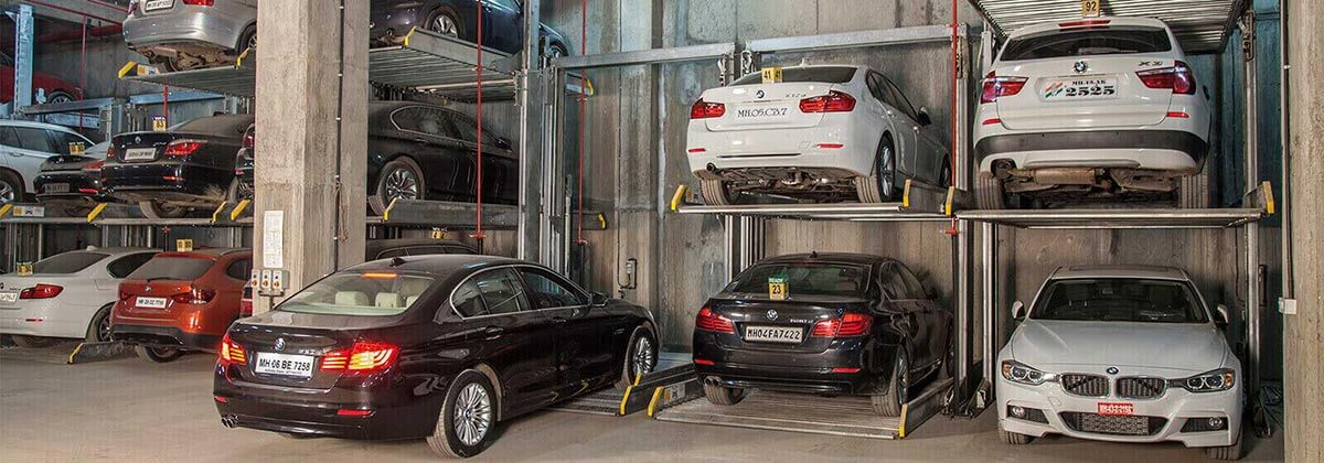 car parking system in india